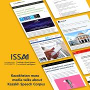 Корпус казахской речи в новостях