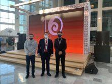 1 декабря – ученые ISSAI представили свои проекты г-ну Масимову