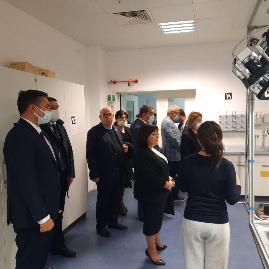 Председатель Милли Меджлиса Азербайджана посетила ISSAI